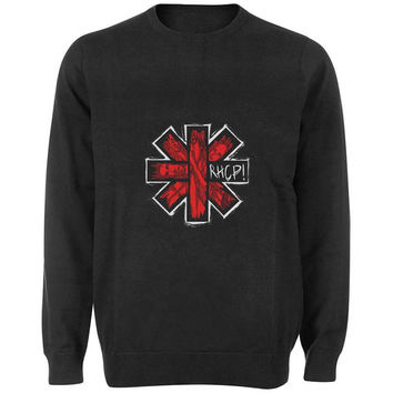 red hot chili peppers sweater Black and White Sweatshirt Crewneck Men or Women for Unisex Size with variant colour