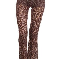 Mineral Lace Flare Pants