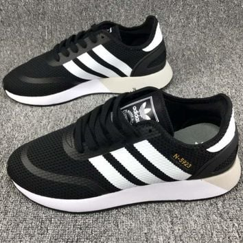 ADIDAS clover N-5923 2018 spring and summer retro trend fashion running shoes F-CSXY black