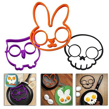 Free Shipping Rabbit Silicone Egg Mold Ring Cooking Tools Fried Egg Kitchen Gadgets Cheapest Price