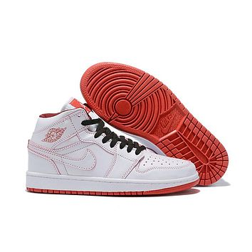 Air Jordan 1 - White/Red