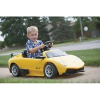 Lamborghini Kid Car - Status Starts Young