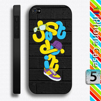 Just Do It Nike for iPhone 5 / iPhone 4 4s Hard Case