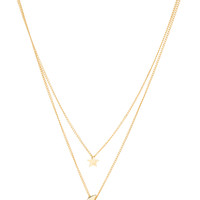 Serena Necklace - Gold
