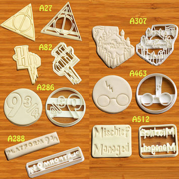 Harry Potter Cookie Cutter not harry potter mug harry potter macbook decal harry potter mobile harry potter magnets harry potter monopoly