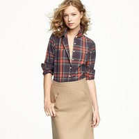 Women's shirts & tops - casual shirts - Perfect shirt in tartan - J.Crew