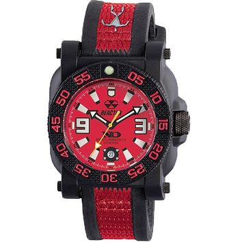Reactor Mens Gryphon Hawaii Lifeguard Edition - Red & Black - Nitromid Polymer