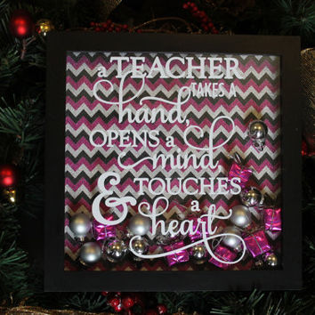 Teacher Gift, Christmas Gift for Teacher, Gift for a Teacher, Teacher's Gift, Christmas Gift, Christmas Decor, Christmas Teacher, Christmas