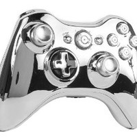 GM Master Mod CHROME Metal Thumbsticks, Bullet Buttons, Trigger Stops, Quickscope, drop shot, Rapid fire for Black Ops 2 Xbox 360 Modded Controller COD Ghosts, MW3, Black Ops 2, Rapid fire mod
