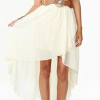 Ivory Chiffon Breathless Dress