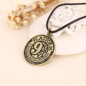 New Arrival Shiny Stylish Jewelry Gift Harry Potter Alloy Necklace [6033893441]