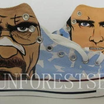 DCKL9 Breaking Bad/converse/hand painted shoes/canvas shoes