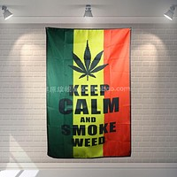 Keep Calm and Smoke Weed - Two Sizes Available - CannaTapestry