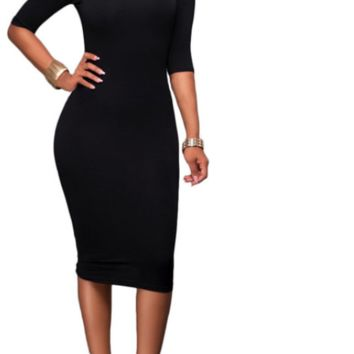 Women Casual Turtleneck Dress