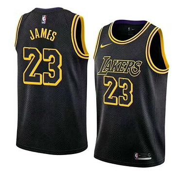 LeBron James Los Angeles Lakers #23 Nike Purple Swingman City Edition jerseys - Best Deal Online