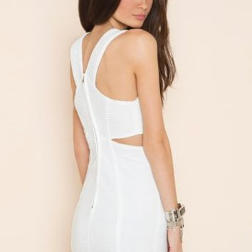 Claudia Dress - White in  What's New at Nasty Gal