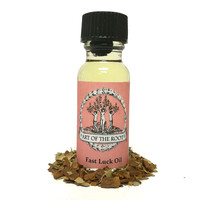 Fast Luck Oil 1/2 oz for Hoodoo, Voodoo, Wicca & Pagan Rituals