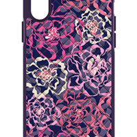 Vera Bradley Micro Fiber Katalina Pink Quilt Case for iPhone X - AT&T