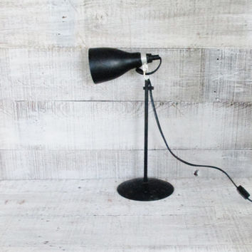 Task Lamp Industrial Desk Lamp Industrial Lamp Mid Century Black Metal Adjustable Task Light Table Lamp Spot Light Drafting Lamp