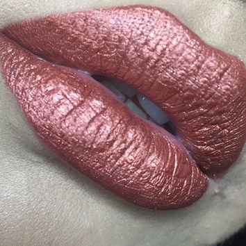 CHATTERBOX - COPPER - Vegan Matte Liquid Lipstick