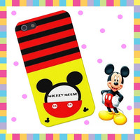 MICKEY MOUSE case for iPhone 4,4S,5 iCaruz make to order