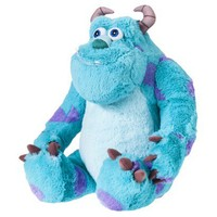 "Disney Monsters University Sulley Cuddle Pillow - Blue(27x14"")"
