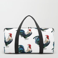 Rooster Duffle Bag by sureart