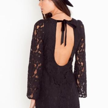 Bella Lace Dress in  Clothes Dresses at Nasty Gal