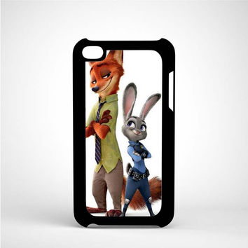 Zootopia iPod 4 Case