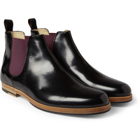 Armando Cabral High-Shine Leather Chelsea Boots | MR PORTER
