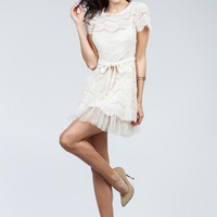 Time Of My Life Dress - Cream