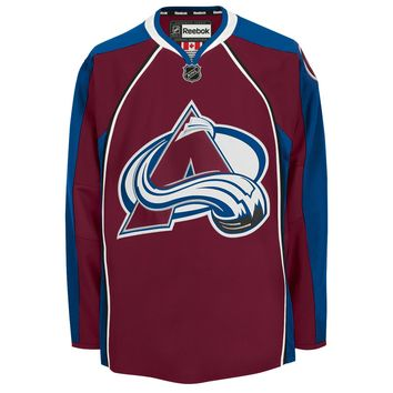 Colorado Avalanche 2015-16 Reebok EDGE Authentic Home NHL Hockey Jersey (Made in Canad