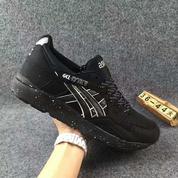ASICS GEL LYTE V :Fashion Sport Casual Shoes Sneakers Black-Starry sky Soles