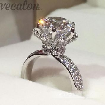 3 Carat Diamond Ring by Vecalon
