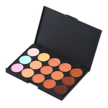 New Hot Sale Special Professional 15 COLOR Concealer Facial Care Camouflage Makeup Palette Drop Wholesale