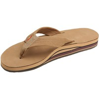 Women's Rainbow Sandals Premier Leather Double Stack Wide Strap