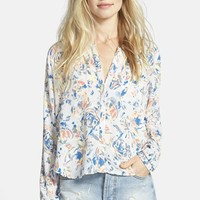 Women's ASTR Print High/Low Shirt