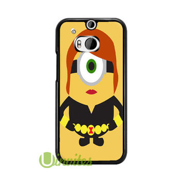 Despicable Me Minion Black Wido  Phone Cases for iPhone 4/4s, 5/5s, 5c, 6, 6 plus, Samsung Galaxy S3, S4, S5, S6, iPod 4, 5, HTC One M7, HTC One M8, HTC One X
