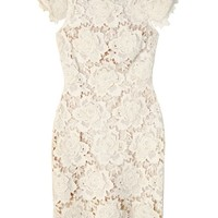 Lover Ivory 3D Star Lace Dress