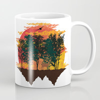 perfect view landscape Mug by Berwies