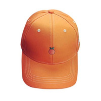 Embroidery Snapback Caps Candy Color Orange Hats For Women Solid Baseball Caps Summer Beach Caps Gorras Hombre#121 SM6