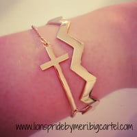 Cross Bracelet Set (see more colors)