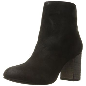Seychelles Womens Congregation Nubuck Stacked Heel Booties