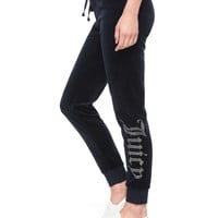 VELOUR JUICY GOTHIC ZUMA PANT
