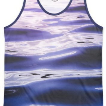 Fluid summer II Men's Echo Beach Tank by Happy Melvin | Nuvango