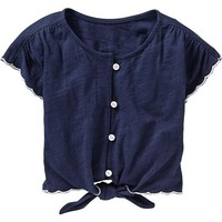 Tie-Front Shirts for Baby