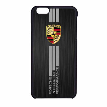Porsche Aluminium Brushed Printed iPhone 6 Case