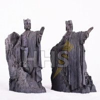 11*14CM The Lord of The Rings Bookends Action Figure The Gates of Gondor Argonath Diecast Statue Figure Toys Western Anime Gifts