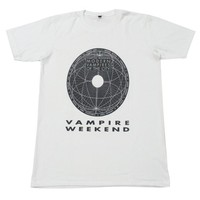 Vampire Weekend punk alternative rock music T-Shirt White / GV57 size M