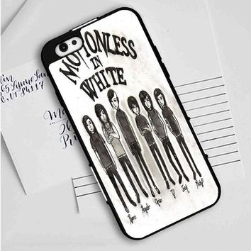Motionless In White (monster cartoon) iPhone Case